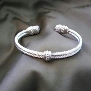 unknown Jewelry - Silver cuff bracelet